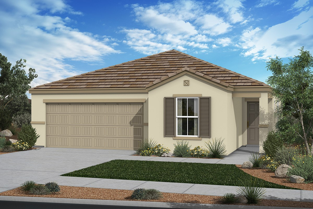 New Homes in San Tan Valley, AZ - The Enclaves at The Parks Plan 1547 Elevation C