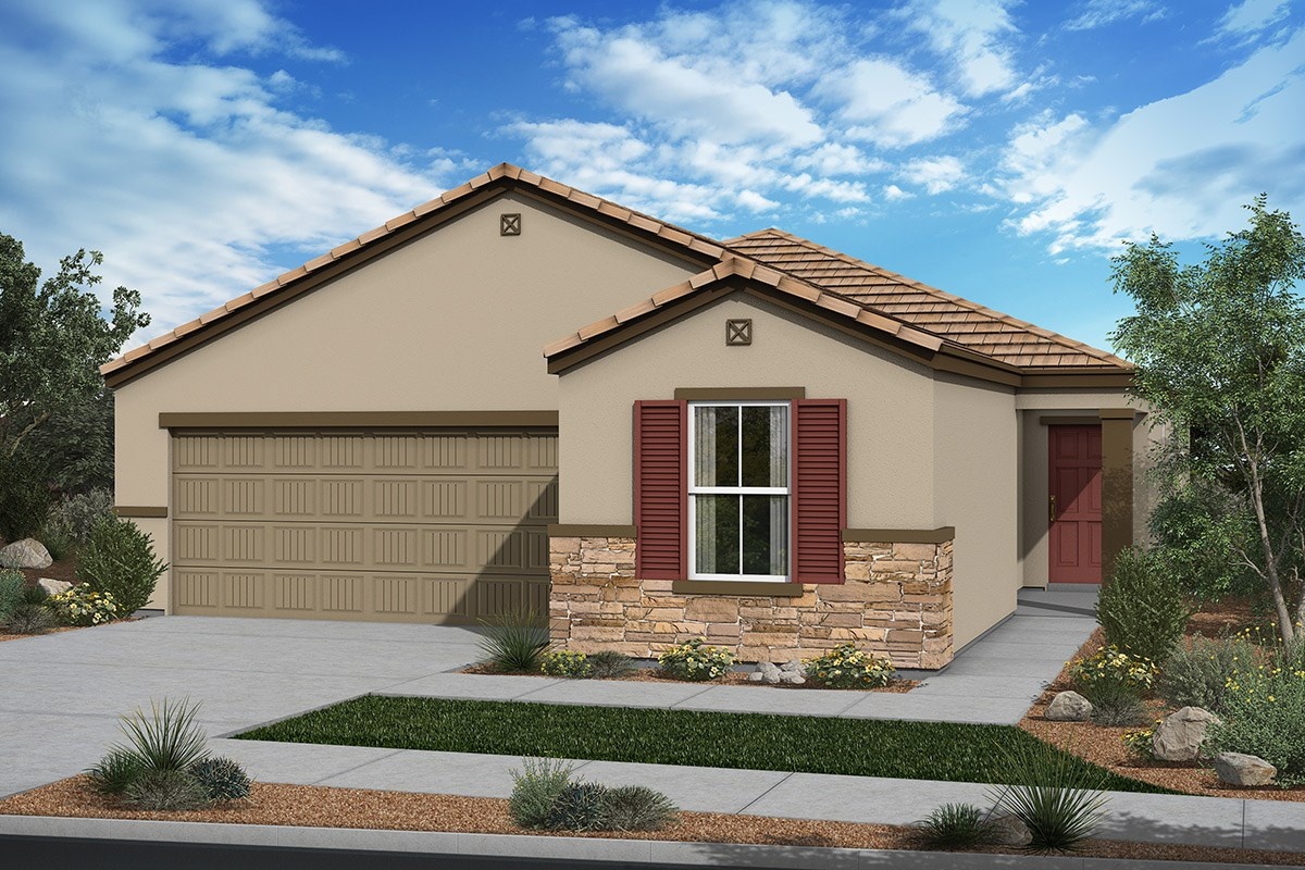 New Homes in San Tan Valley, AZ - The Enclaves at The Parks Plan 1849 Elevation C