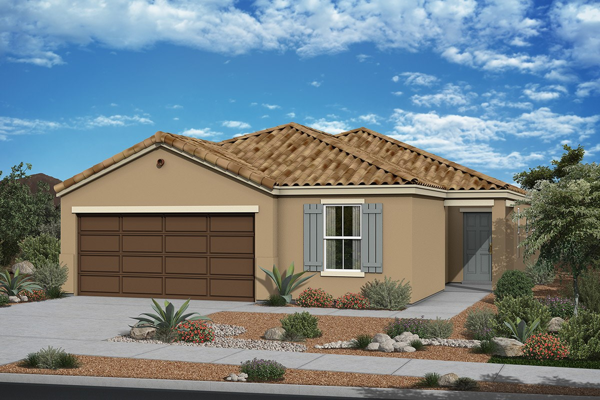 New Homes in San Tan Valley, AZ - The Enclaves at The Parks Plan 1915 Elevation A