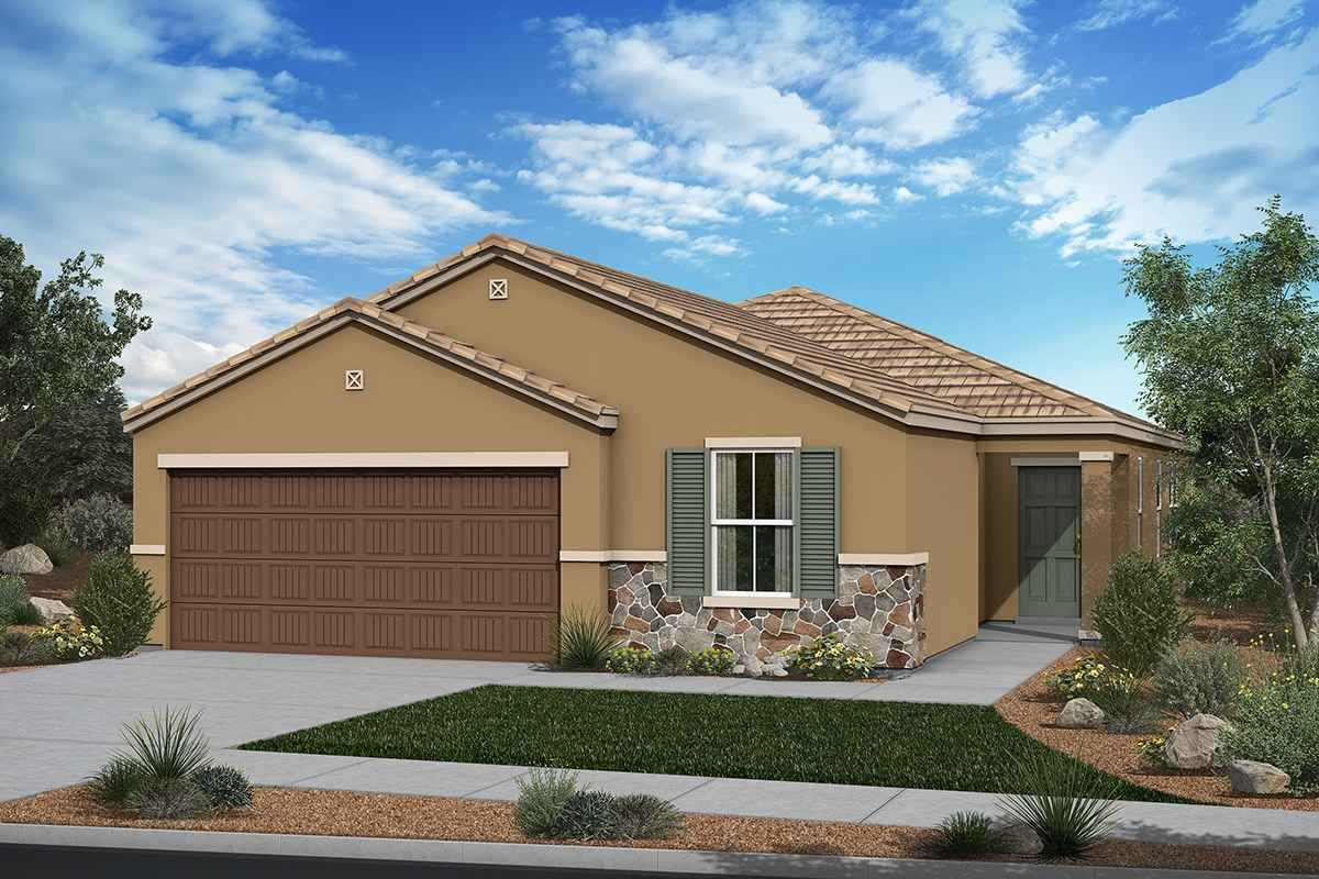 New Homes in San Tan Valley, AZ - The Enclaves at The Parks Plan 1915 Elevation C