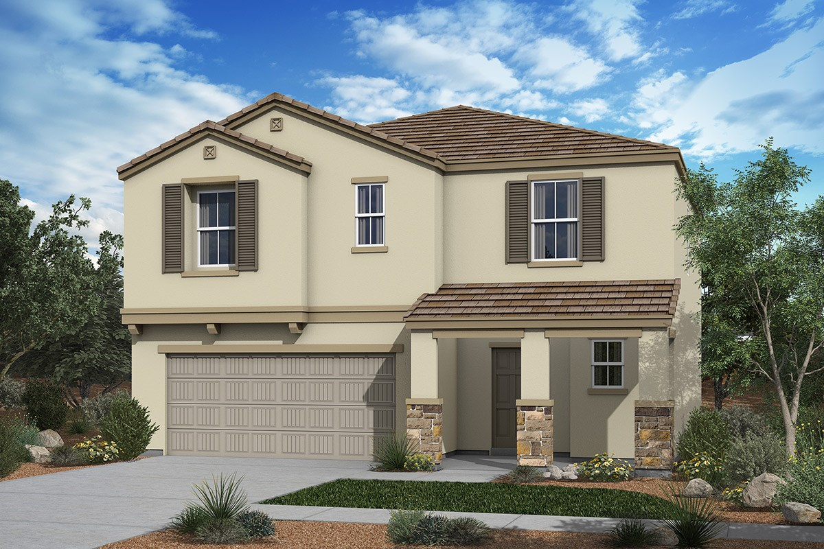 New Homes in San Tan Valley, AZ - The Enclaves at The Parks Plan 2030 Elevation C