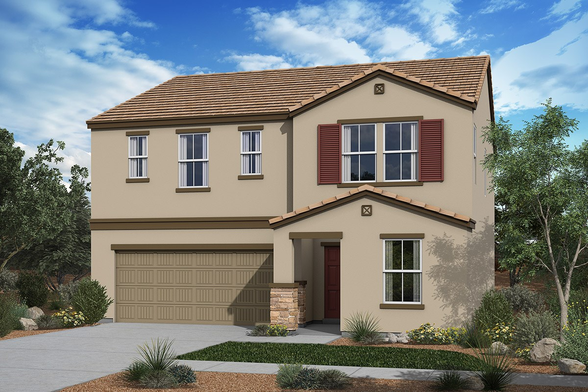 New Homes in San Tan Valley, AZ - The Enclaves at The Parks Plan 2358 Elevation C
