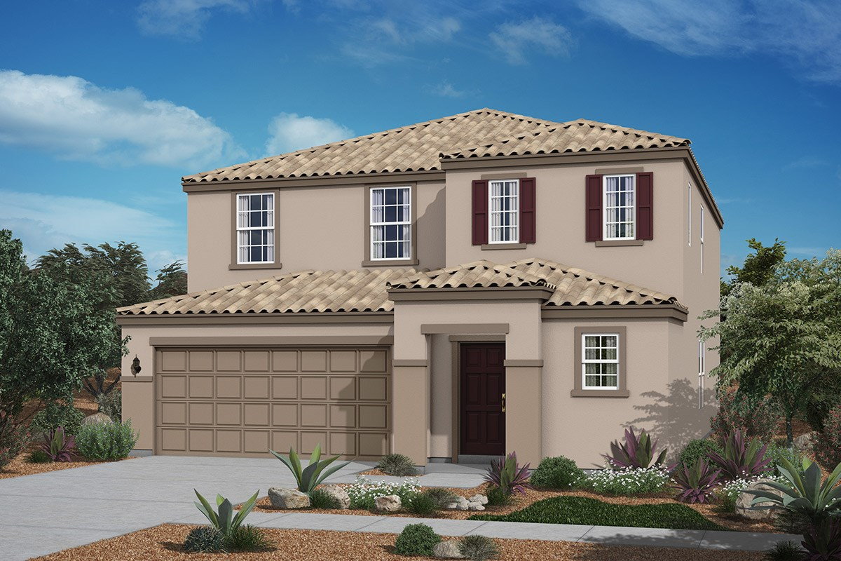 New Homes in San Tan Valley, AZ - The Enclaves at The Parks Plan 2436 Elevation B