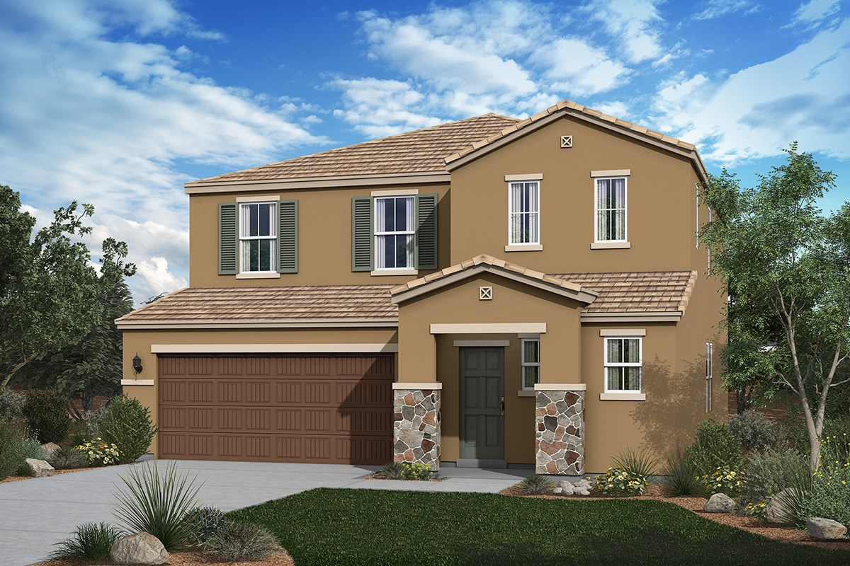 New Homes in San Tan Valley, AZ - The Enclaves at The Parks Plan 2436 Elevation C