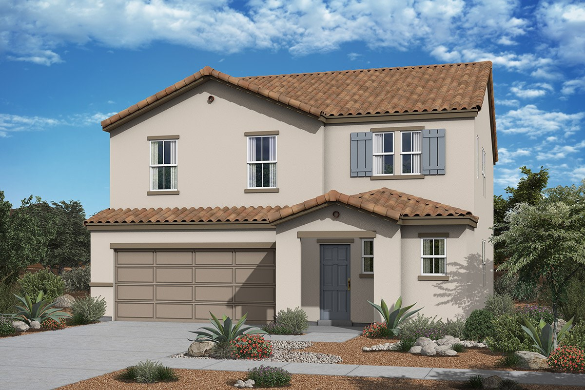 New Homes in San Tan Valley, AZ - The Enclaves at The Parks Plan 2541 Elevation A