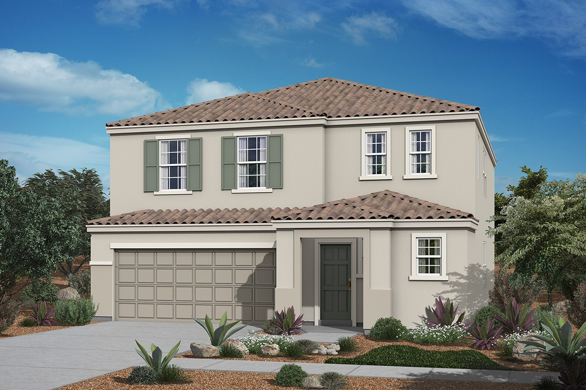 New Homes in San Tan Valley, AZ - The Enclaves at The Parks Plan 2541 Elevation B