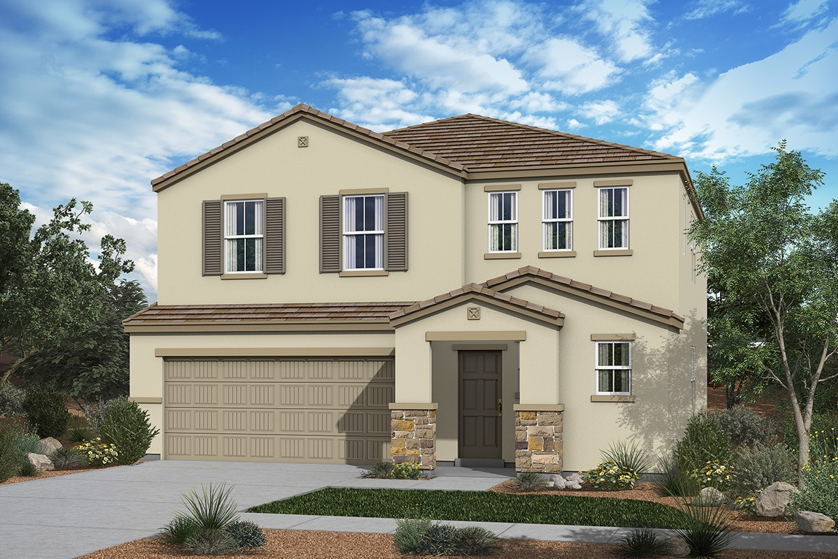 New Homes in San Tan Valley, AZ - The Enclaves at The Parks Plan 2541 Elevation C