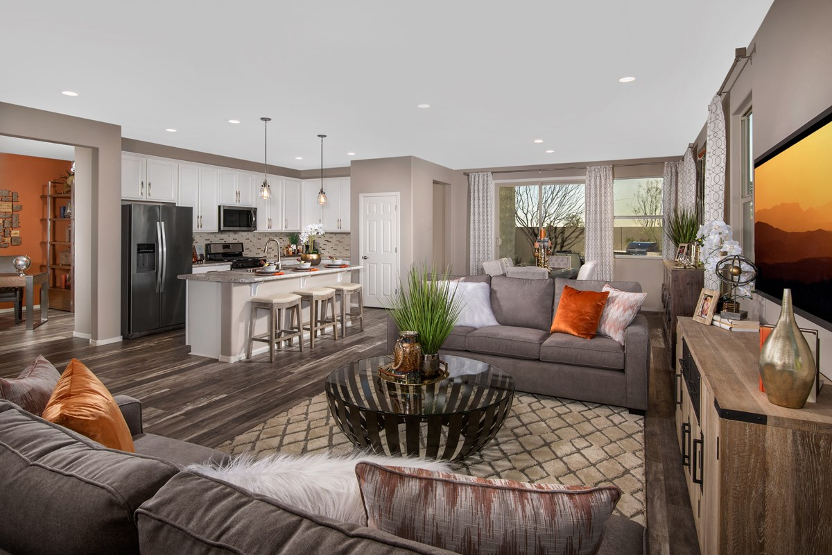 New Homes in San Tan Valley, AZ - The Enclaves at The Parks Plan 1849 Great Room