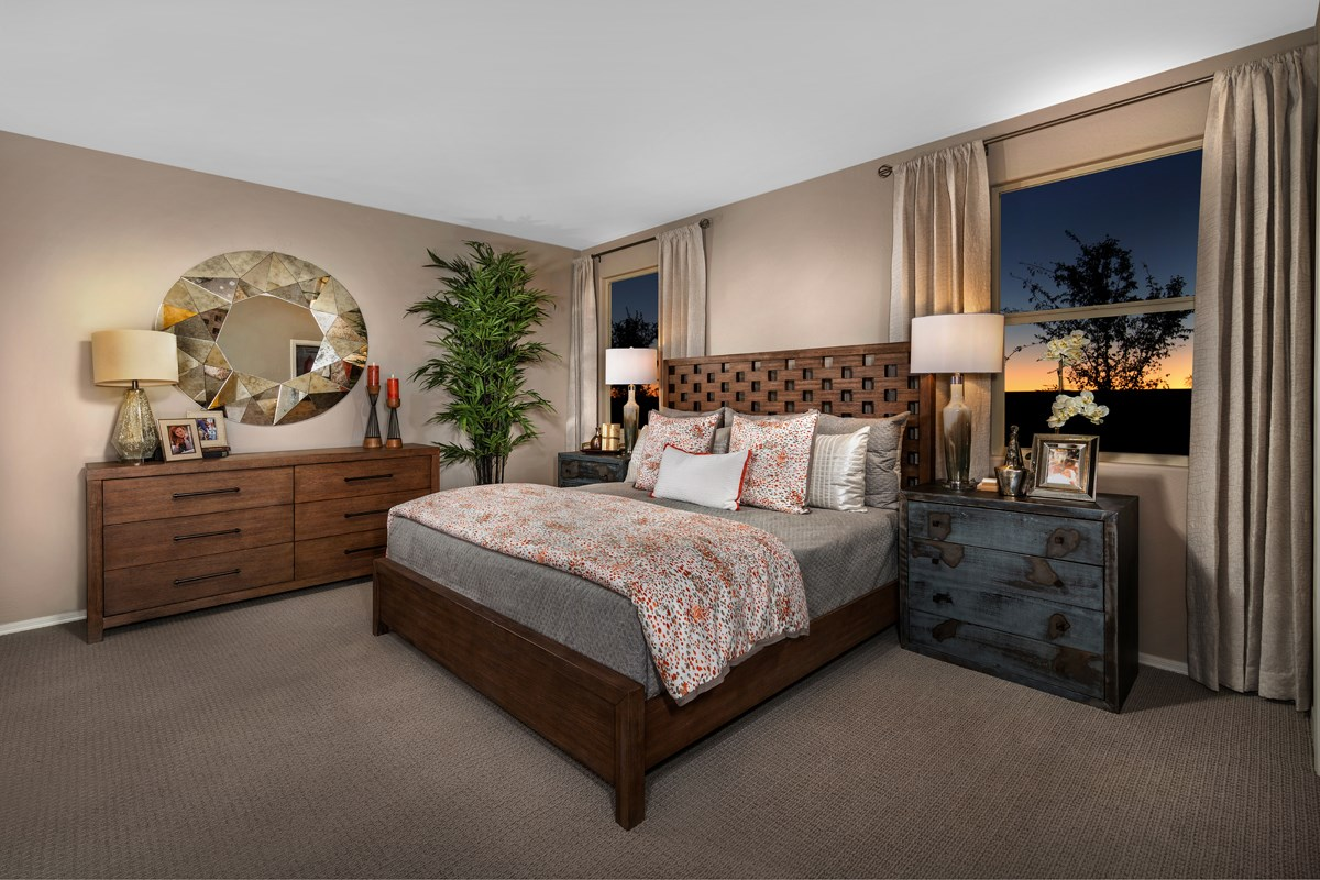 New Homes in San Tan Valley, AZ - The Enclaves at The Parks Plan 1849 Master Bedroom