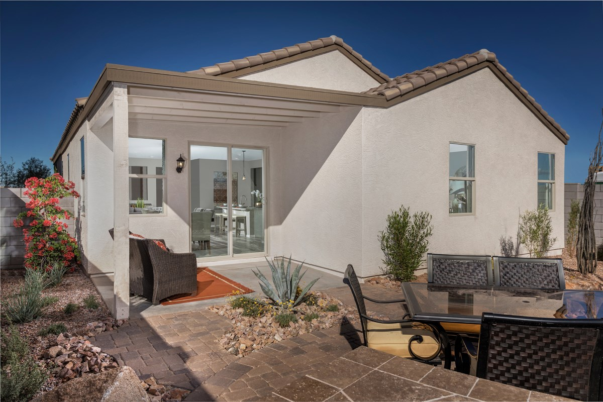 New Homes in San Tan Valley, AZ - The Enclaves at The Parks Plan 1849 Patio