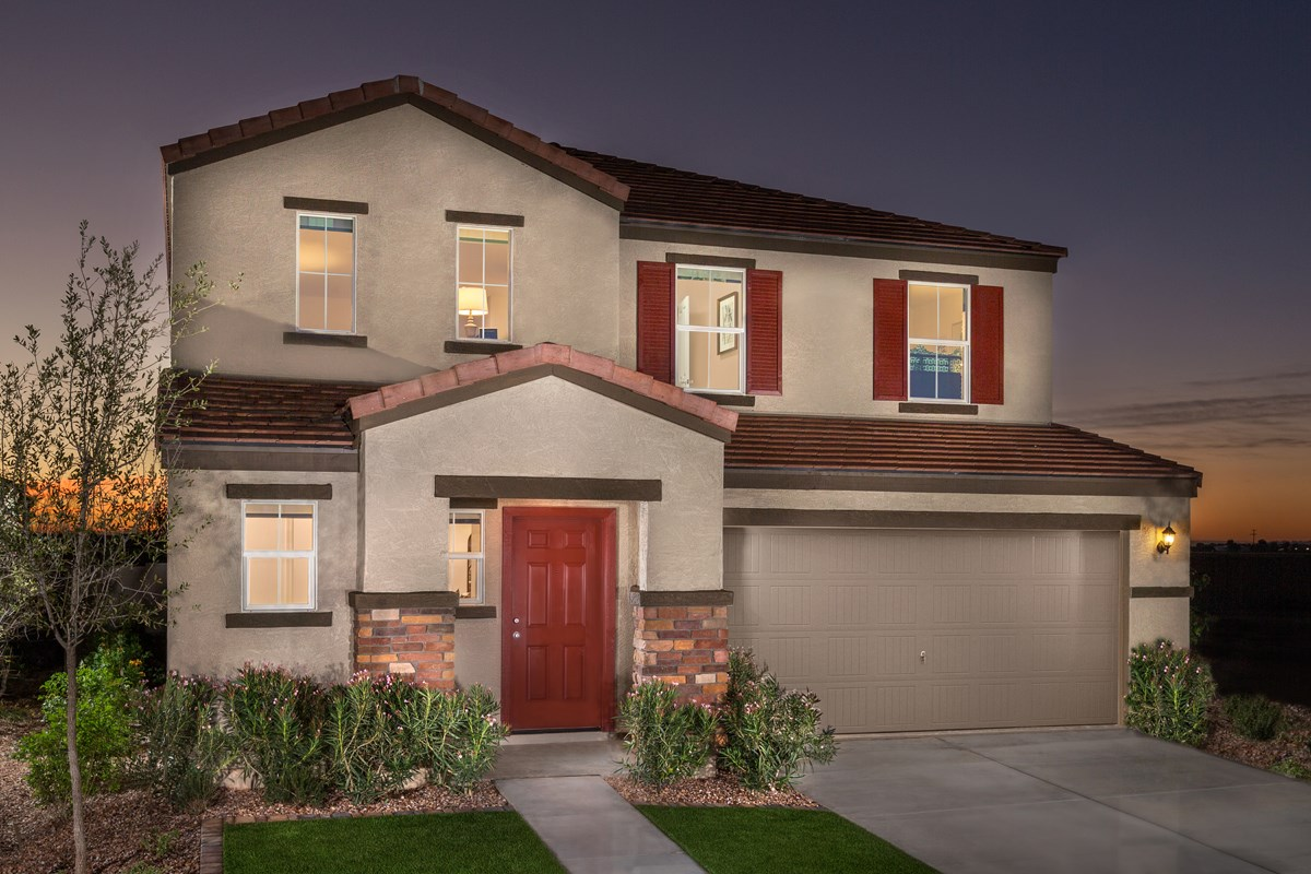 New Homes in San Tan Valley, AZ - The Enclaves at The Parks Plan 2436 Exterior