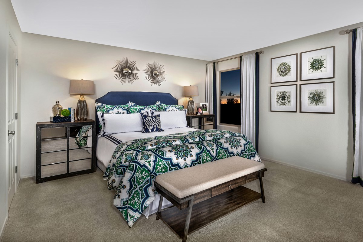 New Homes in San Tan Valley, AZ - The Enclaves at The Parks Plan 2436 Master Bedroom