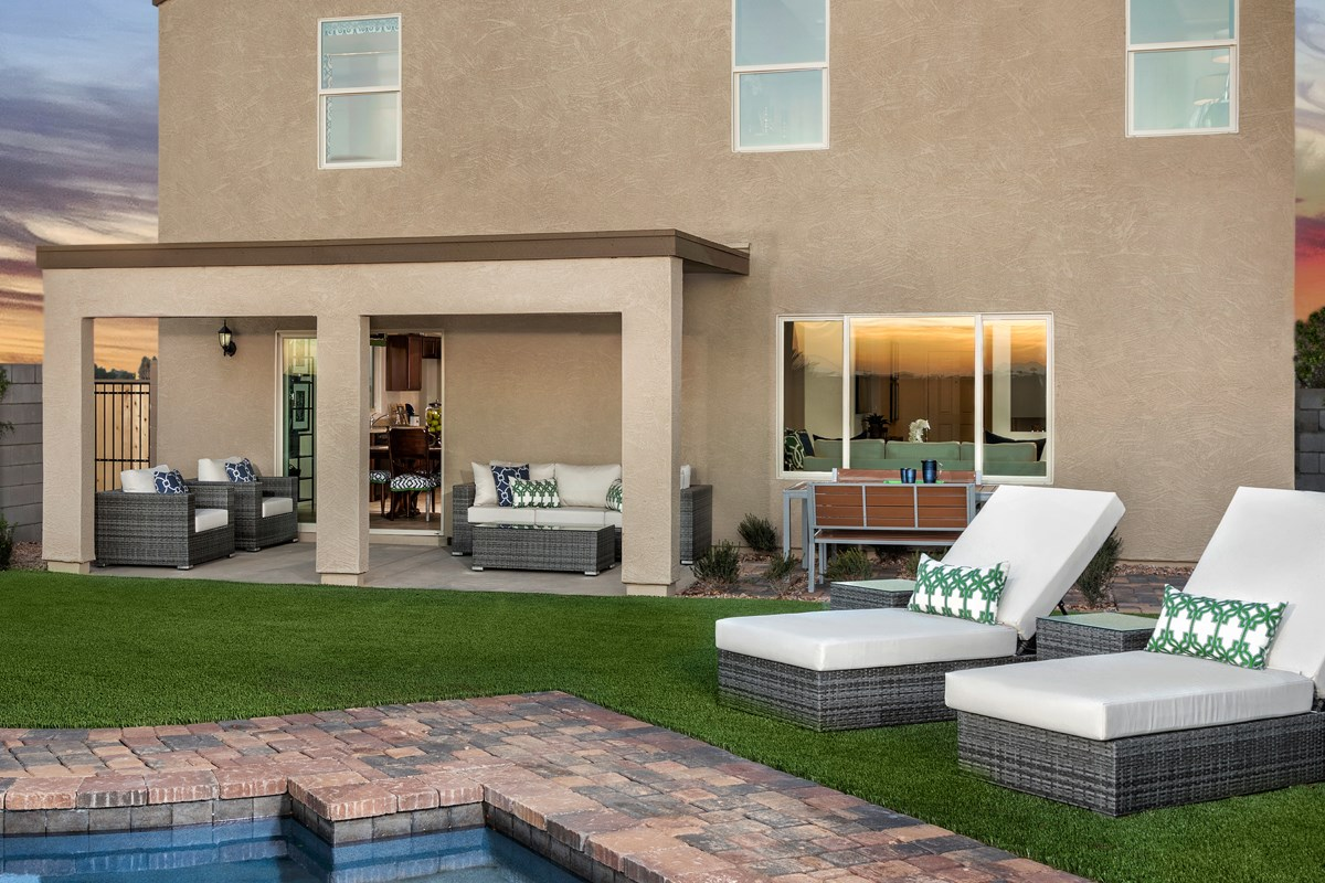 New Homes in San Tan Valley, AZ - The Enclaves at The Parks Plan 2436 Patio