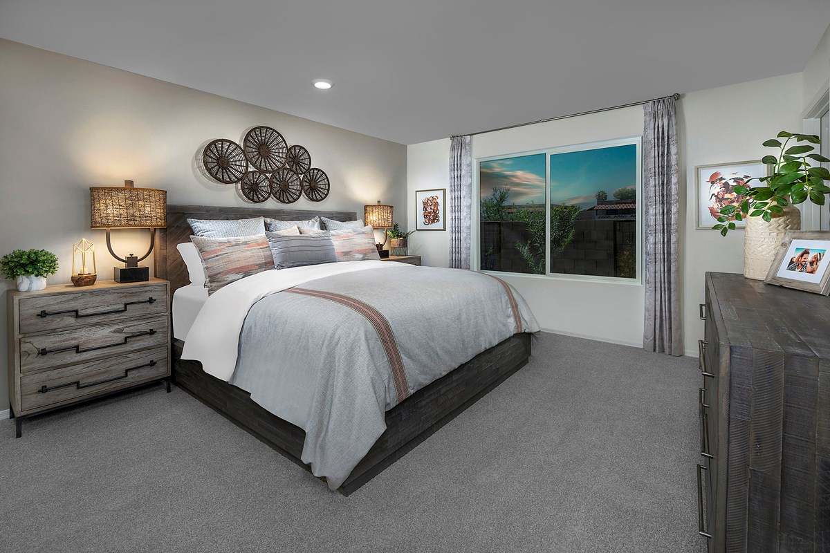 New Homes in Tucson, AZ - Arroyo Reserve 1465 Master Bedroom