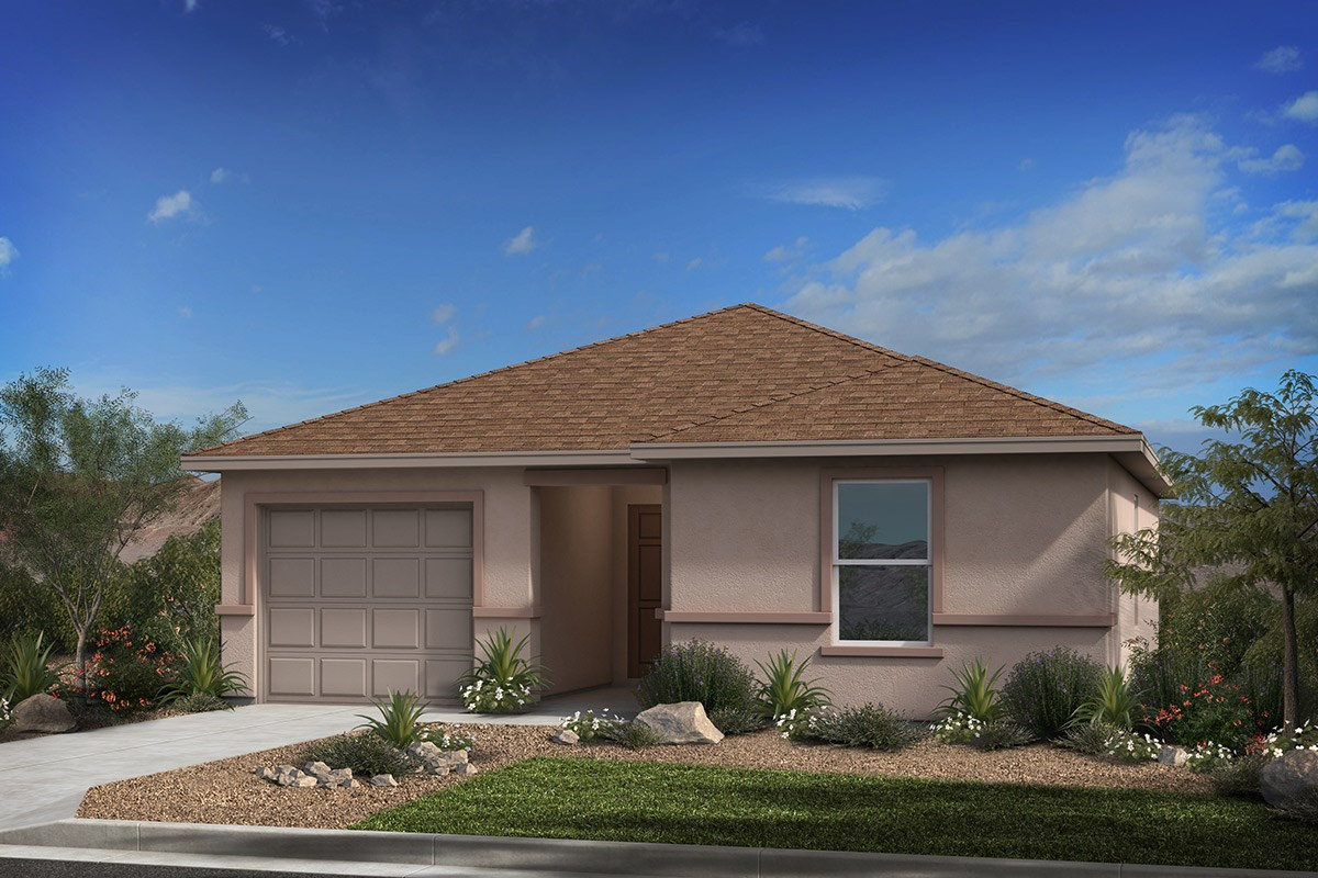 New Homes in Tucson, AZ - Arroyo Reserve Plan 1015 Elevation B