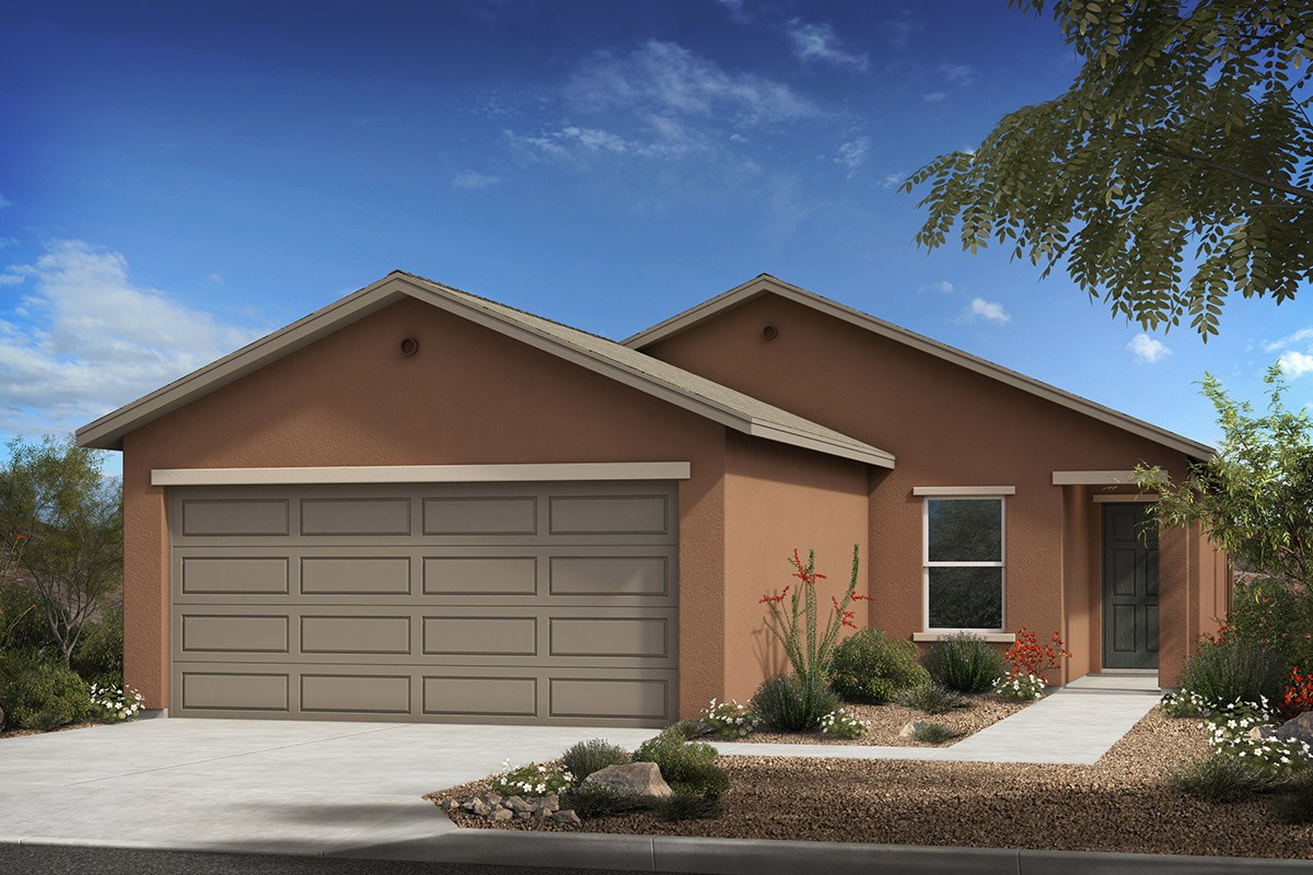 New Homes in Tucson, AZ - Arroyo Reserve Plan 1465 Elevation A