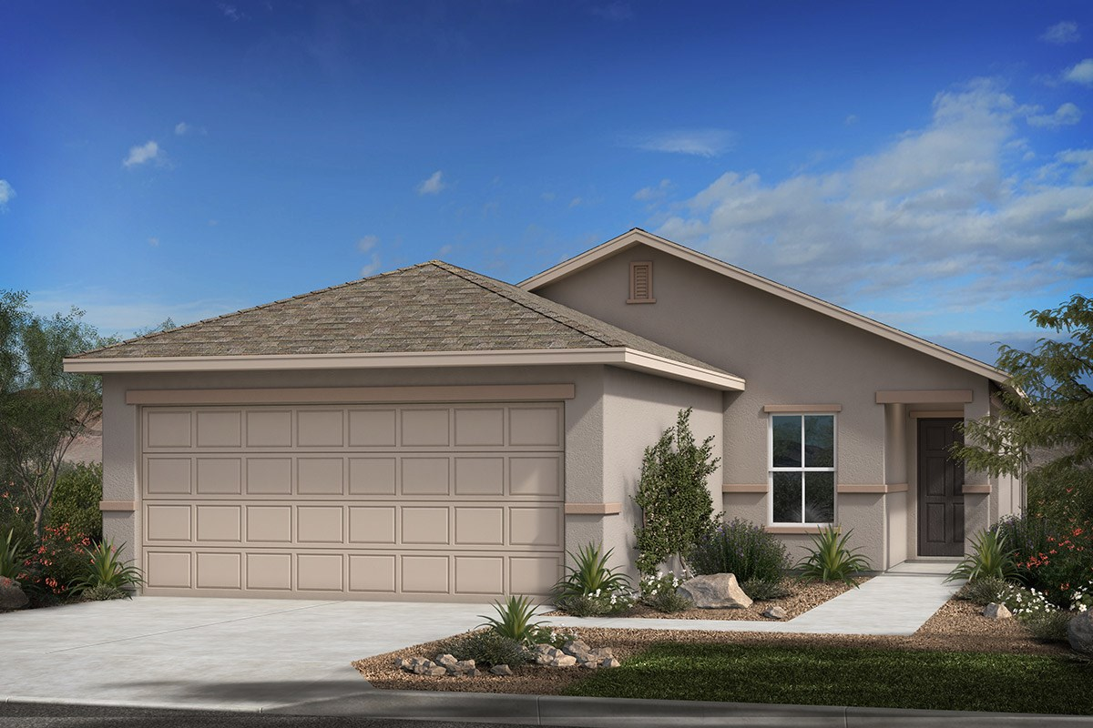 New Homes in Tucson, AZ - Arroyo Reserve Plan 1465 Elevation B