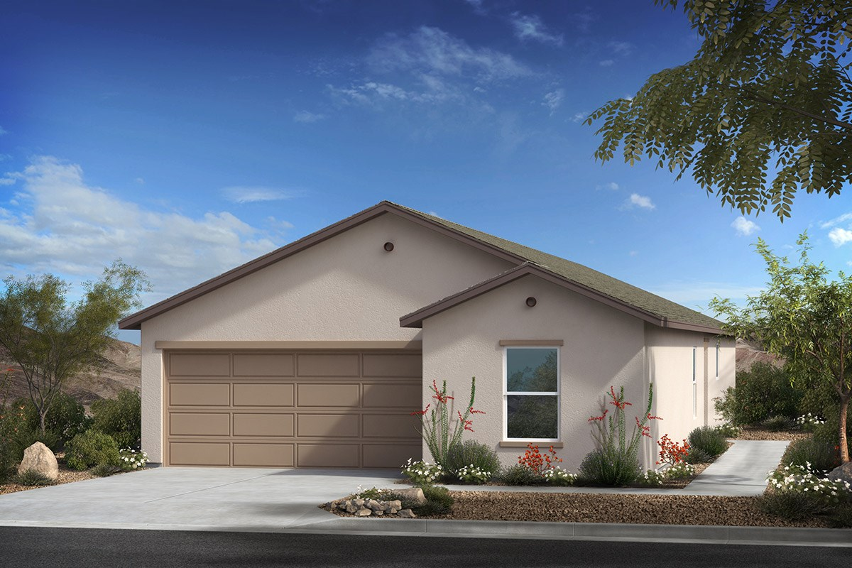 New Homes in Tucson, AZ - Arroyo Reserve Plan 1740 Elevation A