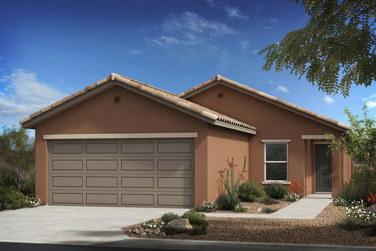 New Homes in Tucson , AZ - Dakota Vista Plan 1465 Elevation A