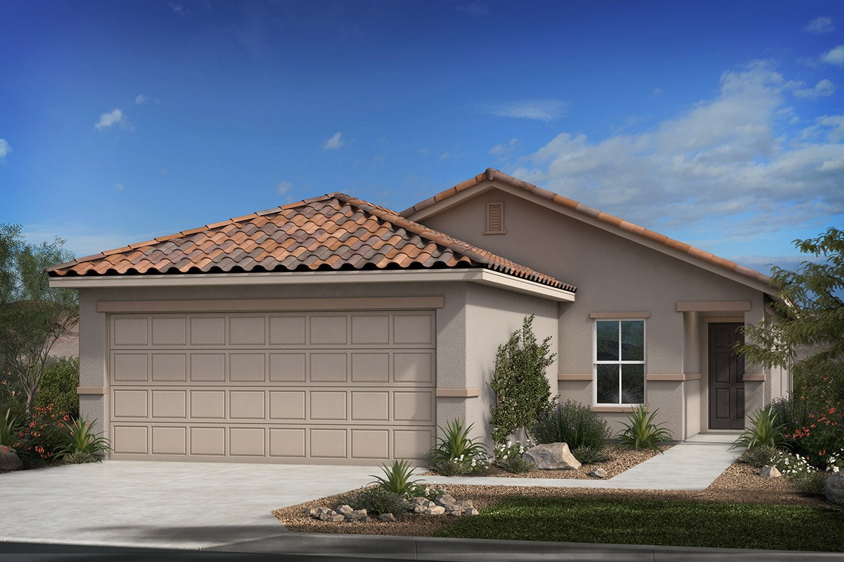 New Homes in Tucson , AZ - Dakota Vista Plan 1465 Elevation B