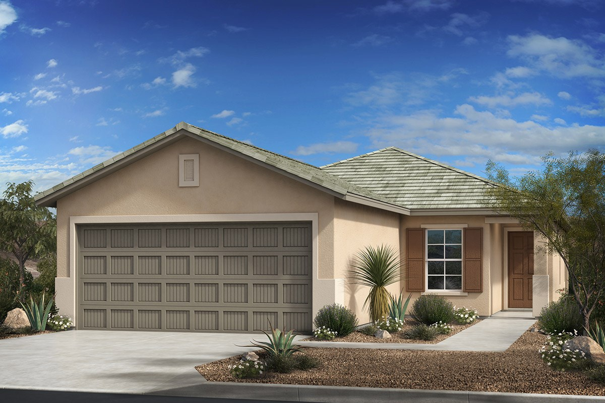 New Homes in Tucson , AZ - Dakota Vista Plan 1465 Elevation C