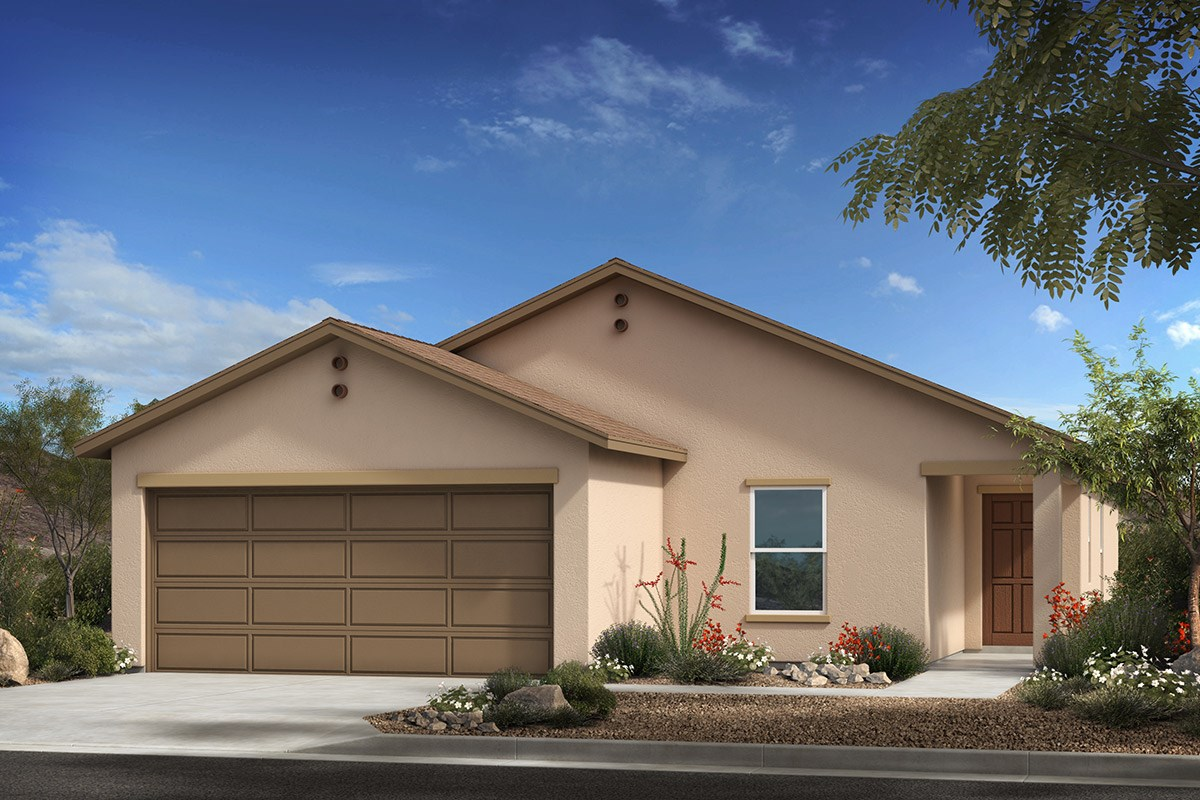 New Homes in Tucson , AZ - Desert Point Plan 1380 Elevation A