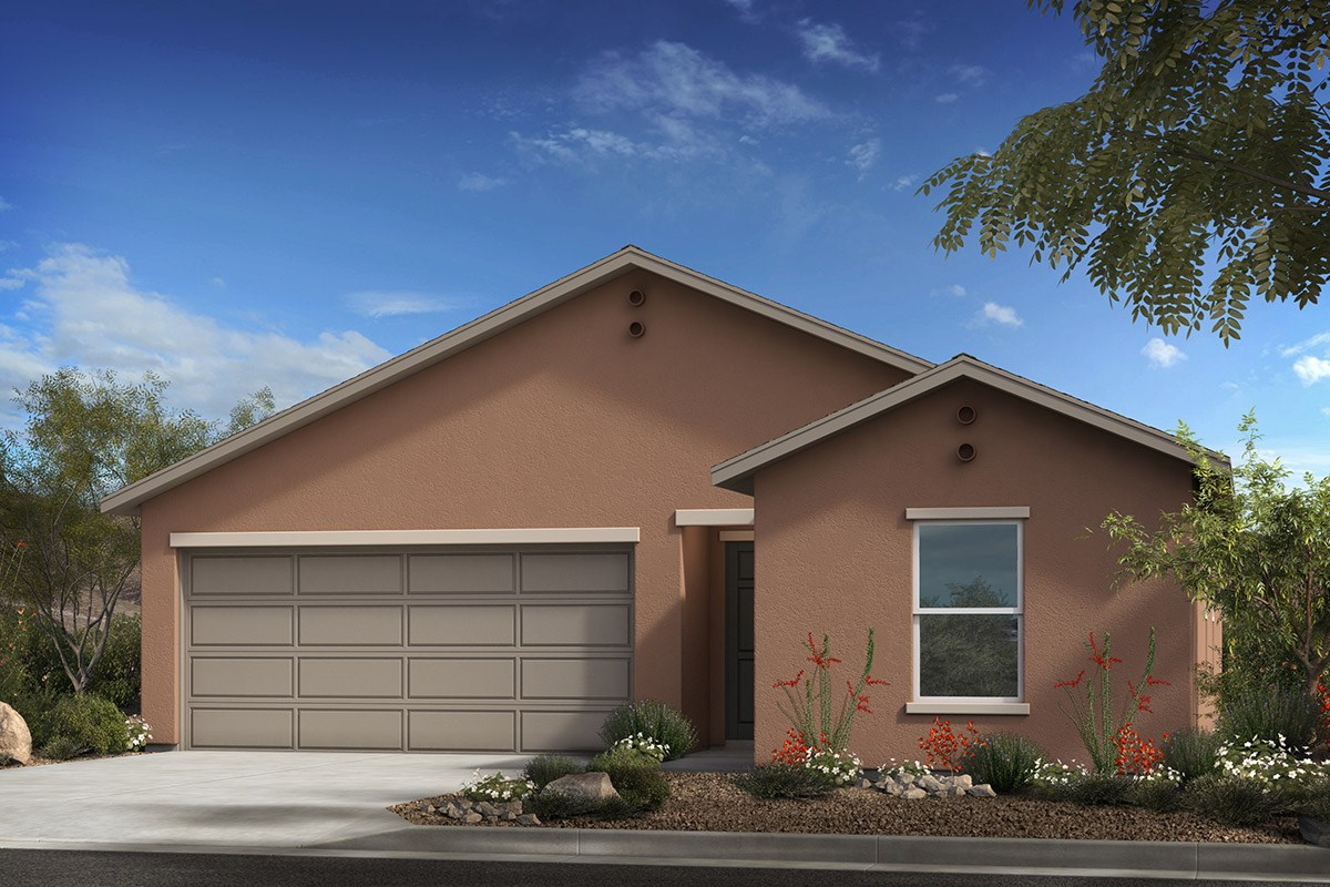 New Homes in Tucson , AZ - Desert Point  Plan 1584 Elevation A