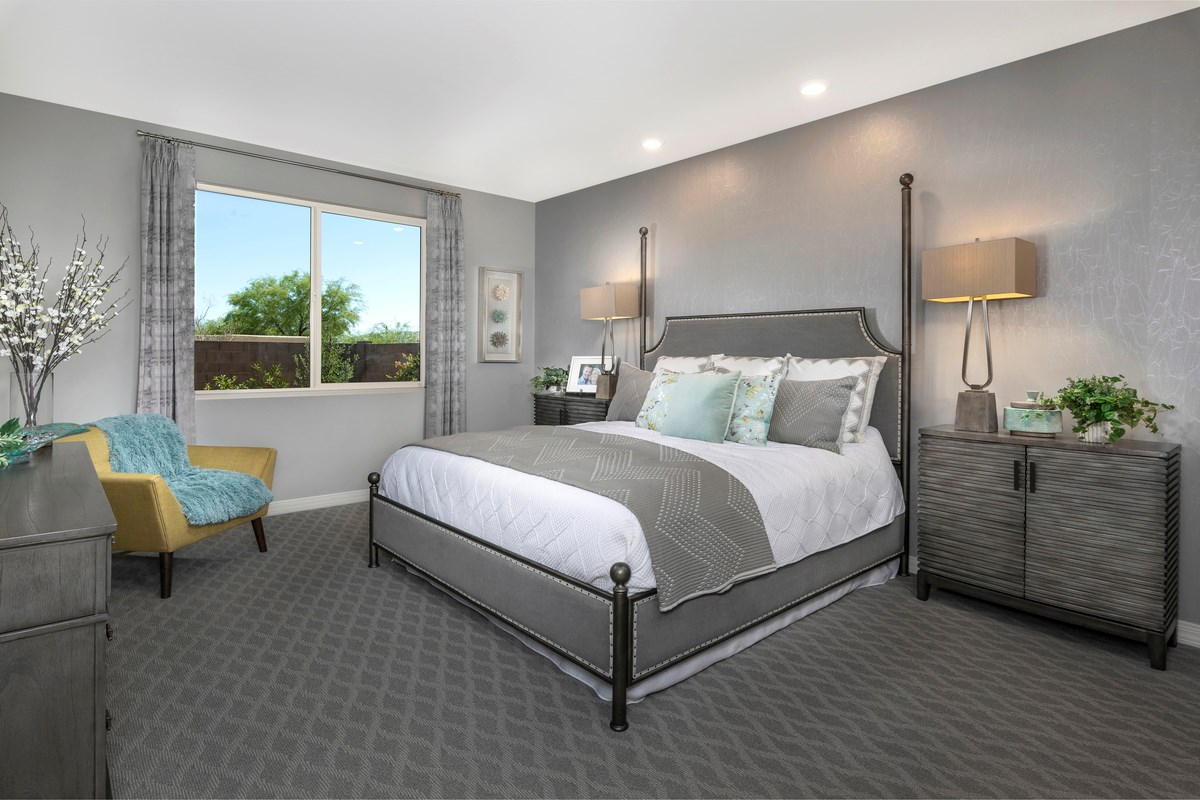 New Homes in Tucson, AZ - Estrella Estates 2013 Master Bedroom