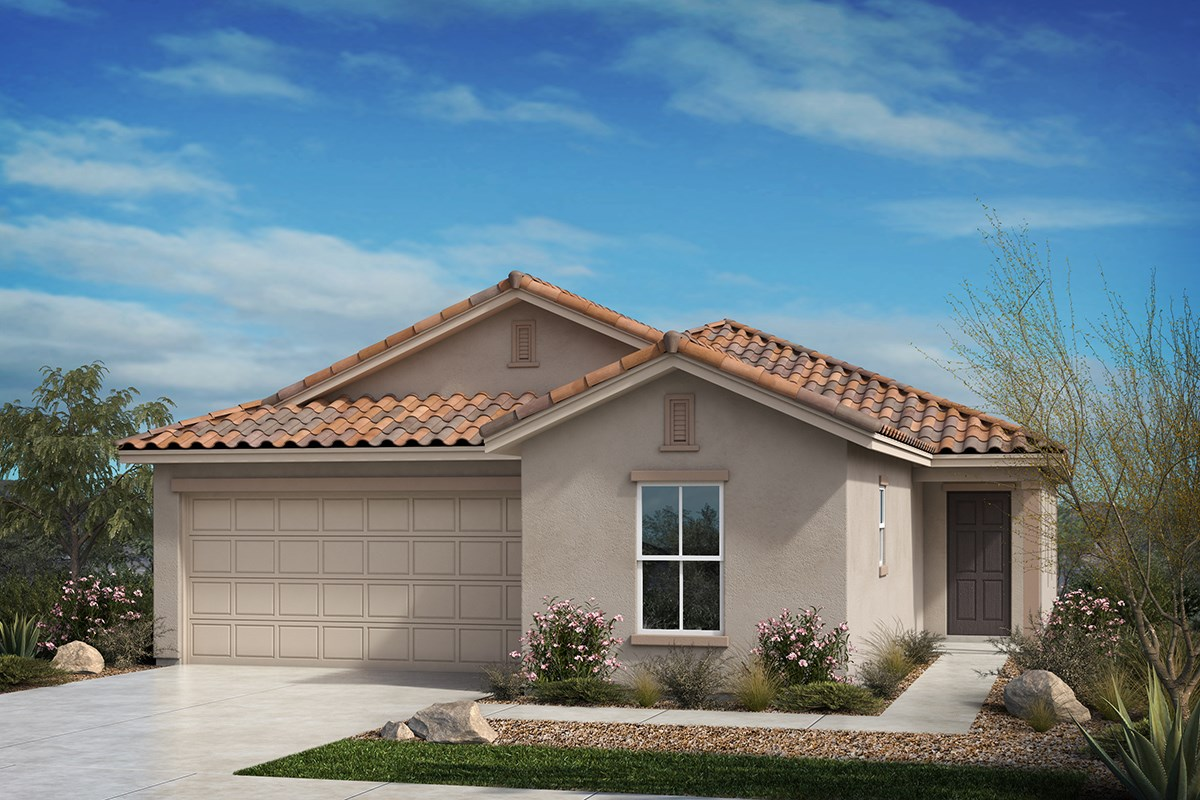 New Homes in Tucson, AZ - Hardy Preserve Plan 1861 Elevation B