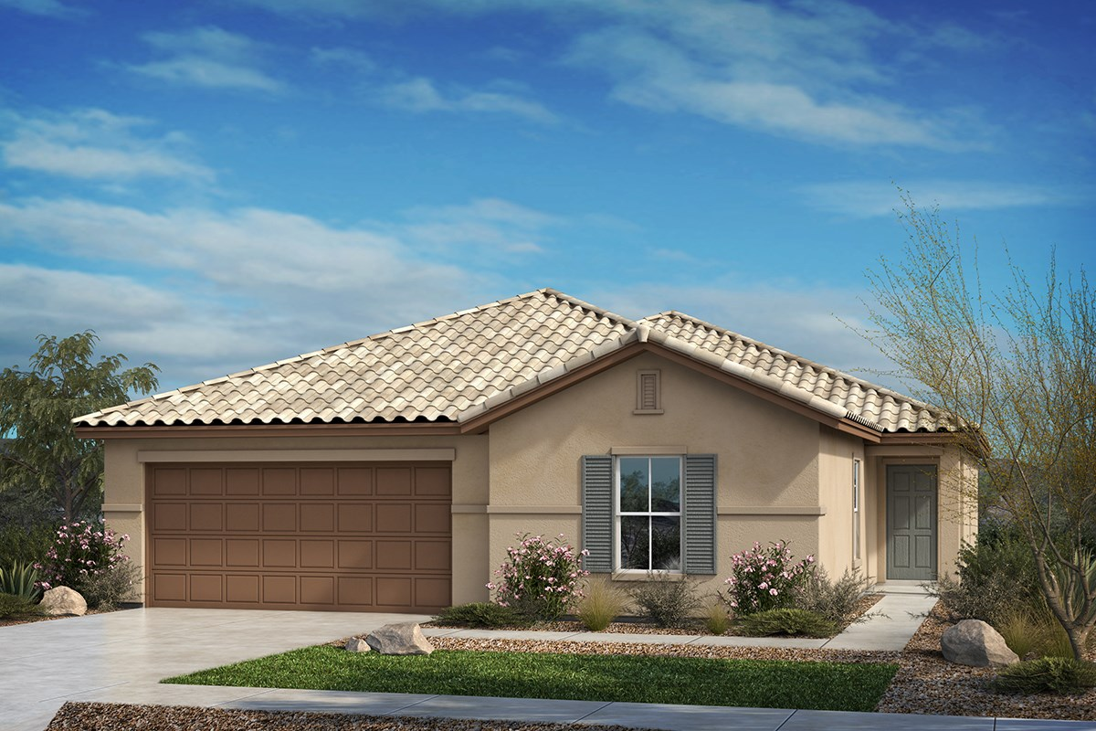 New Homes in Tucson, AZ - Hardy Preserve Plan 2013 Elevation B