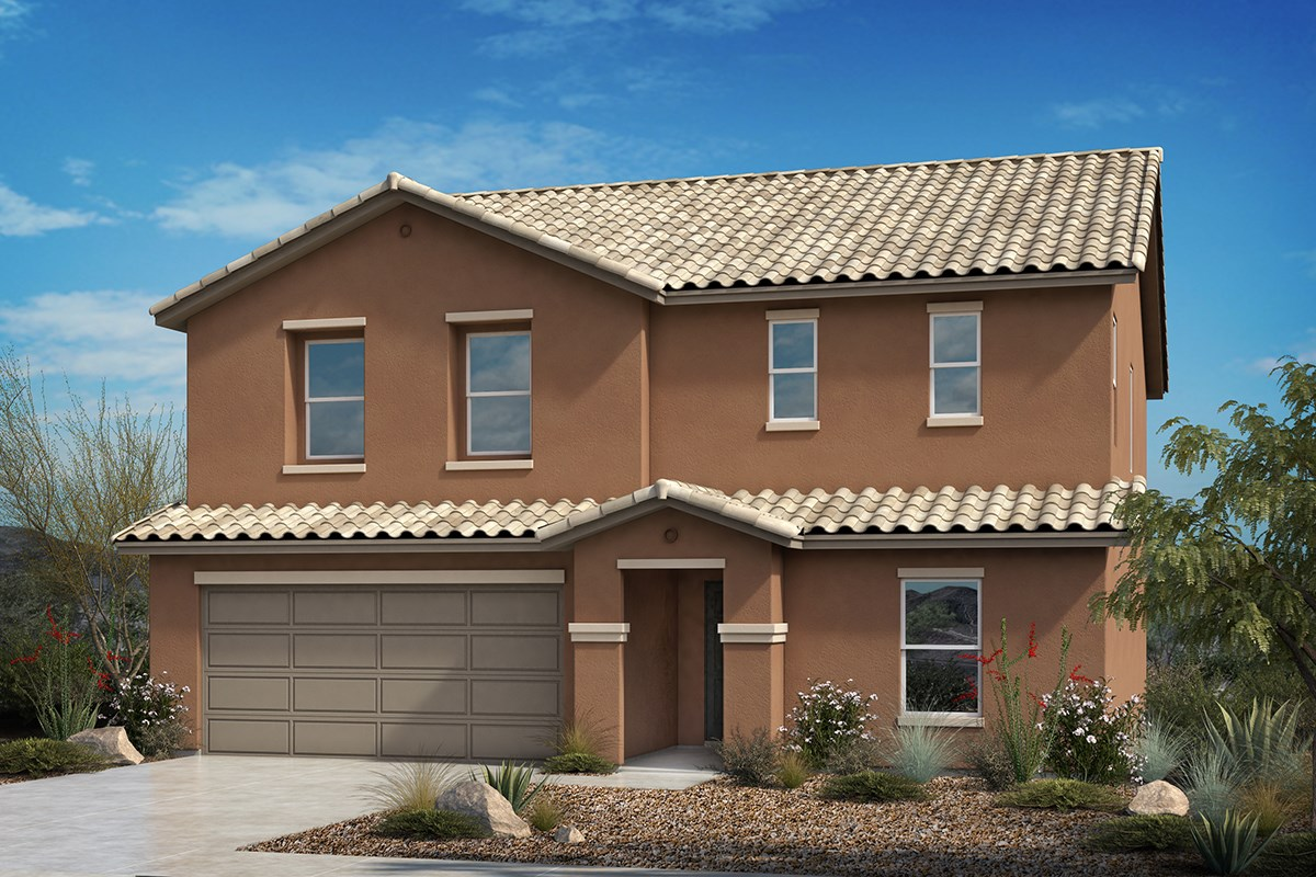 New Homes in Tucson, AZ - Hardy Preserve Plan 2732 Elevation A