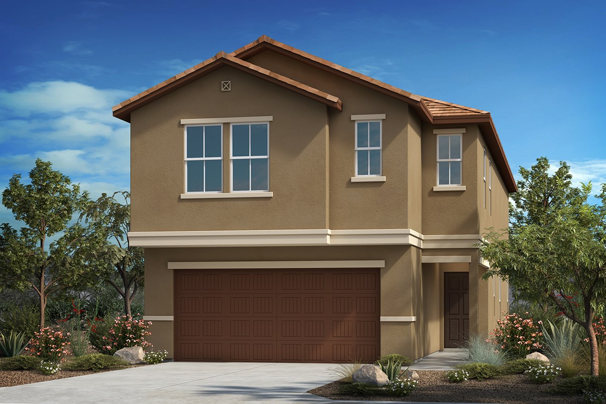 Plan 2037 new home floor plan in la cholla station by kb for Tucson home builders floor plans