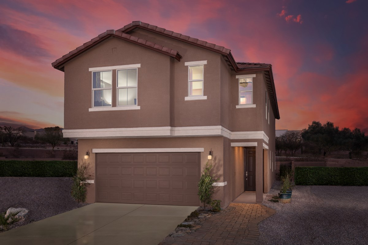 New Homes in Tucson, AZ - La Cholla Station 2467 Exterior
