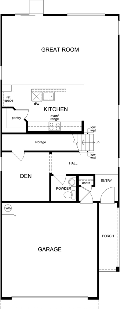 Plan 2467 modeled new home floor plan in la cholla for Tucson home builders floor plans