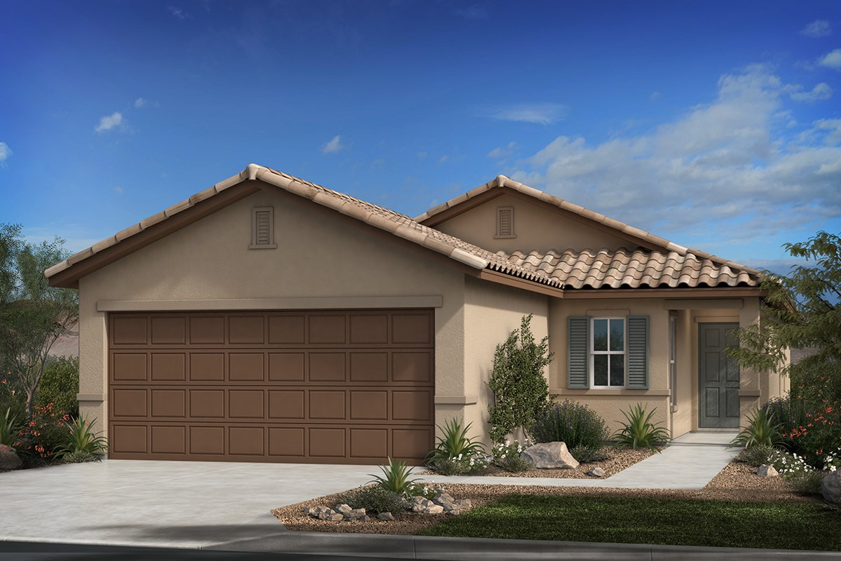 New Homes in Tucson, AZ - Montaretto Estates Plan 1522 Elevation B