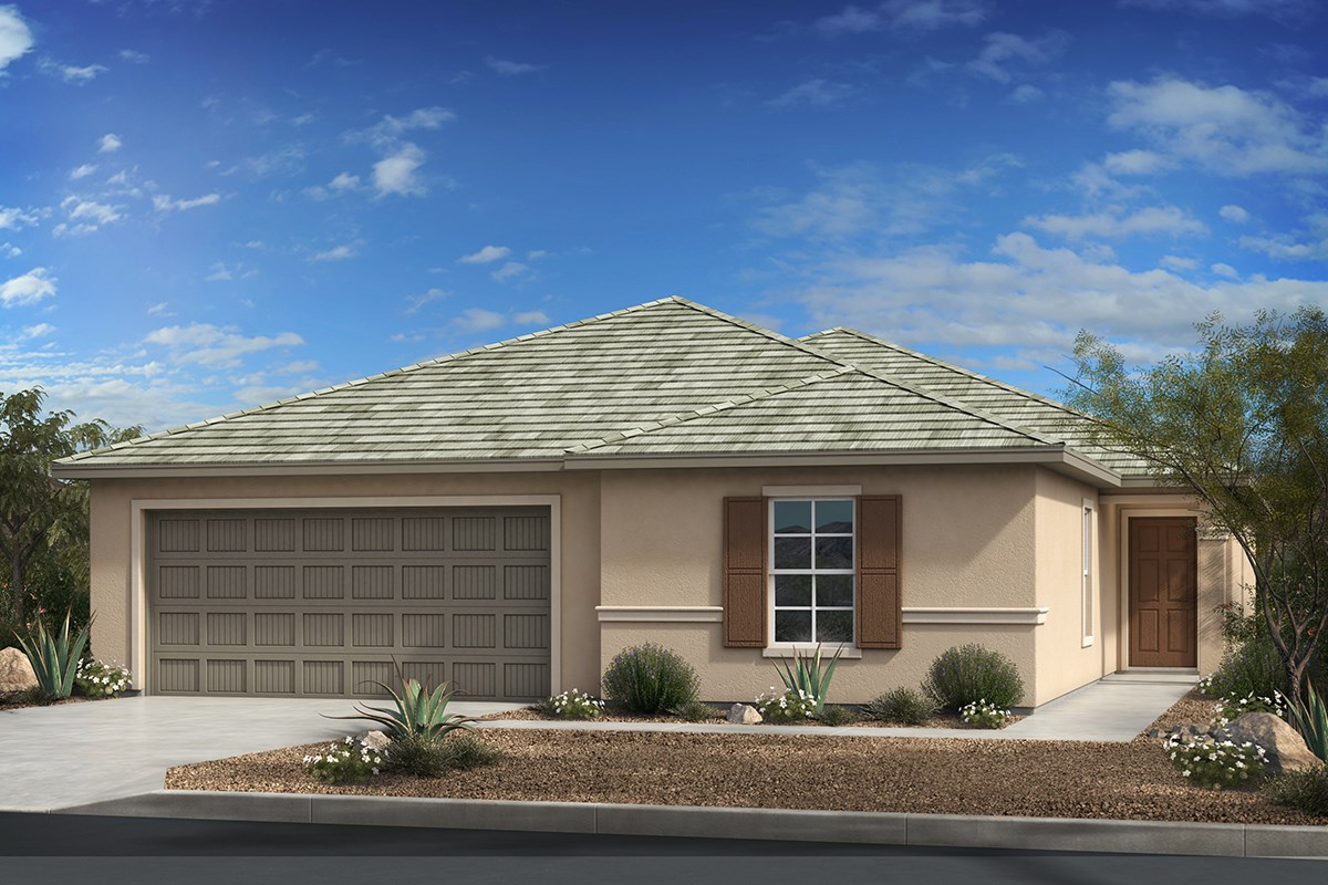 New Homes in Tucson, AZ - Montaretto Estates Plan 2013 Elevation C