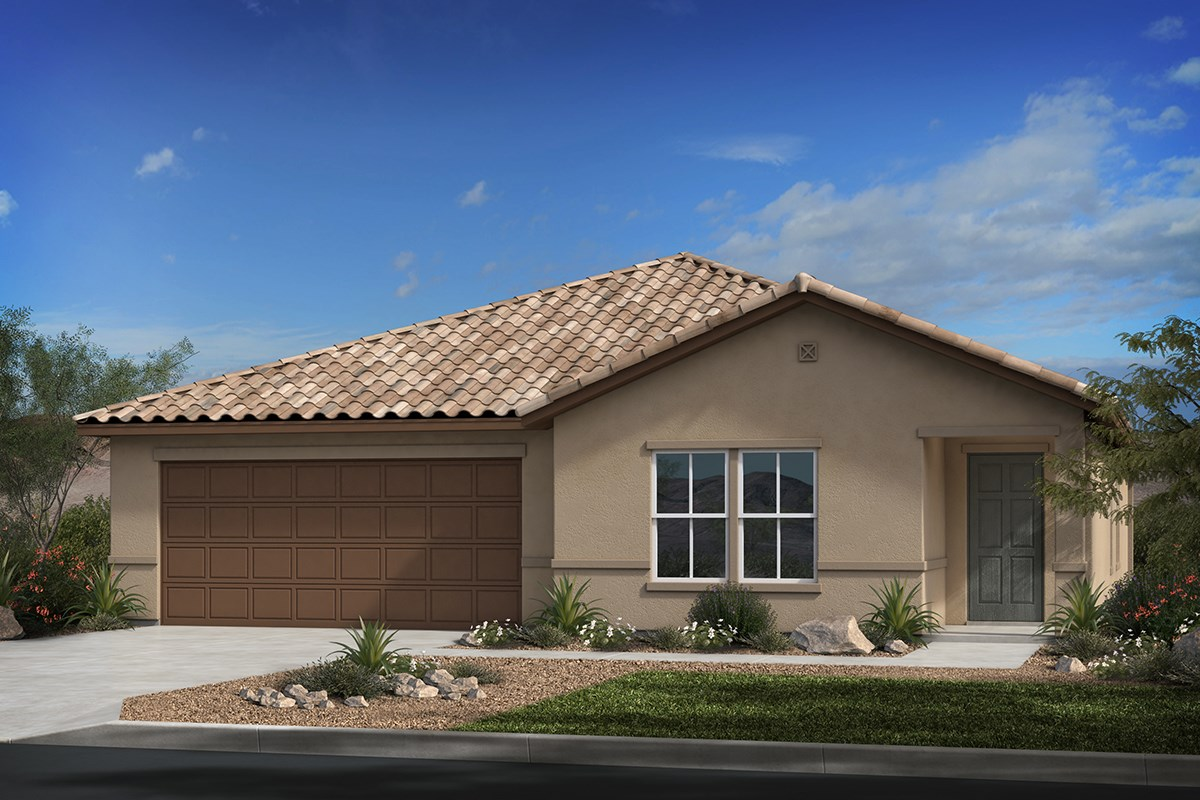 New Homes in Tucson, AZ - Montaretto Estates Plan 2413 Elevation B