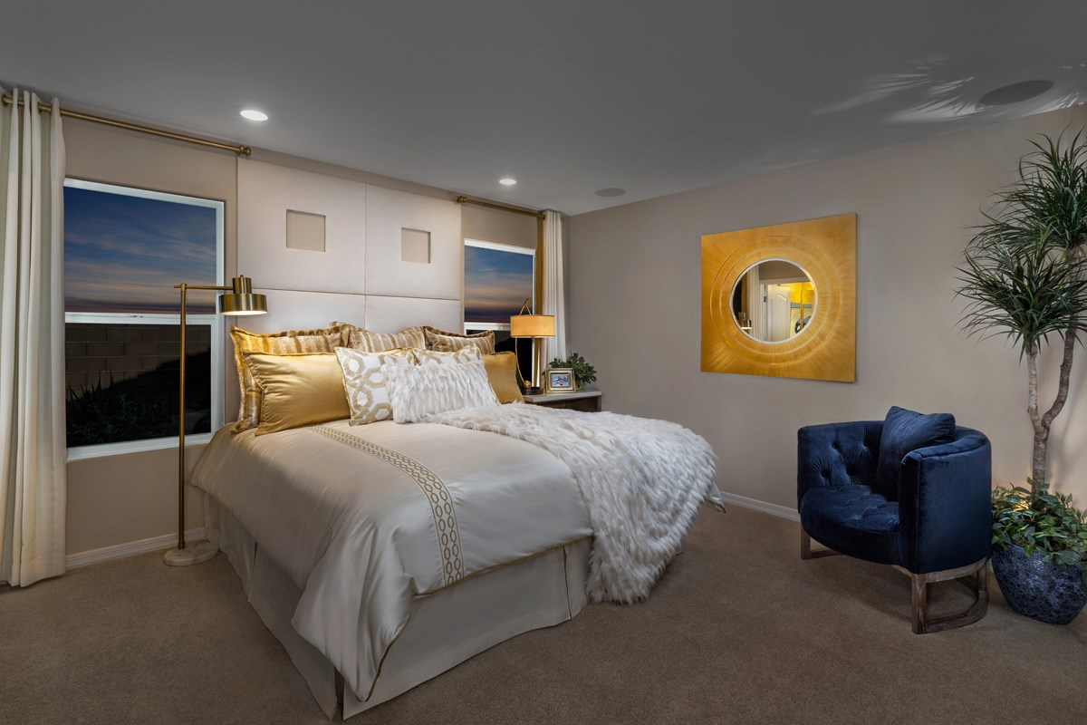 New Homes in Tucson, AZ - Montaretto Estates 1740 Master Bedroom