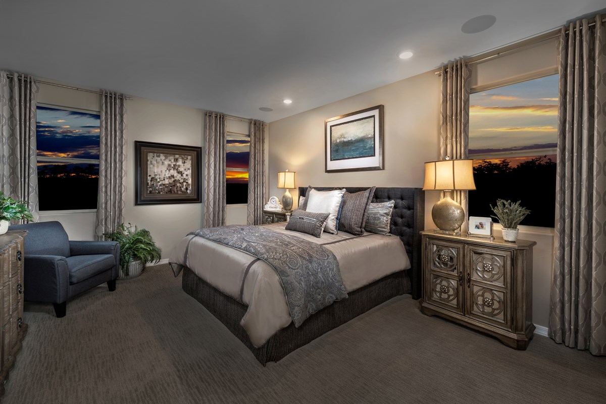 New Homes in Tucson, AZ - Montaretto Estates 2013 Master Bedroom