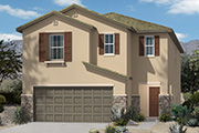 New KB Home built-to-order homes available at Mountain Vail Reserve in Tucson, AZ. Plan 2652 is one of many floor plans to choose from.