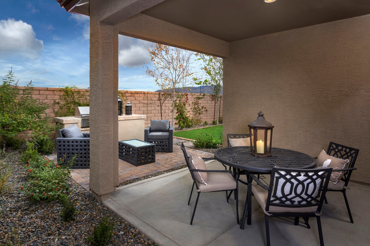 New Homes in Tucson, AZ - Mountain Vail Reserve II 1465 Outdoor Living