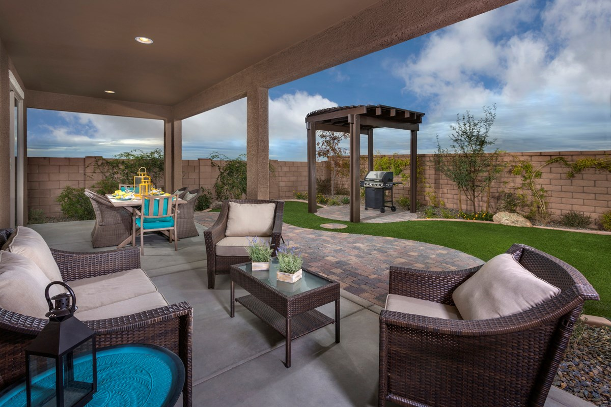 New Homes in Tucson, AZ - Mountain Vail Reserve II 2212 Outdoor Living