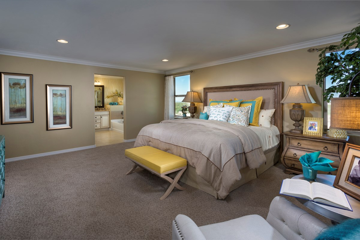 New Homes in Tucson, AZ - Mountain Vail Reserve II 2212 Master Bedroom