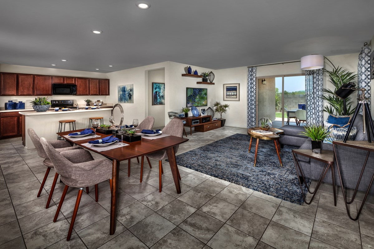 New Homes in Tucson, AZ - Oakmore Reserve 1465 Great Room