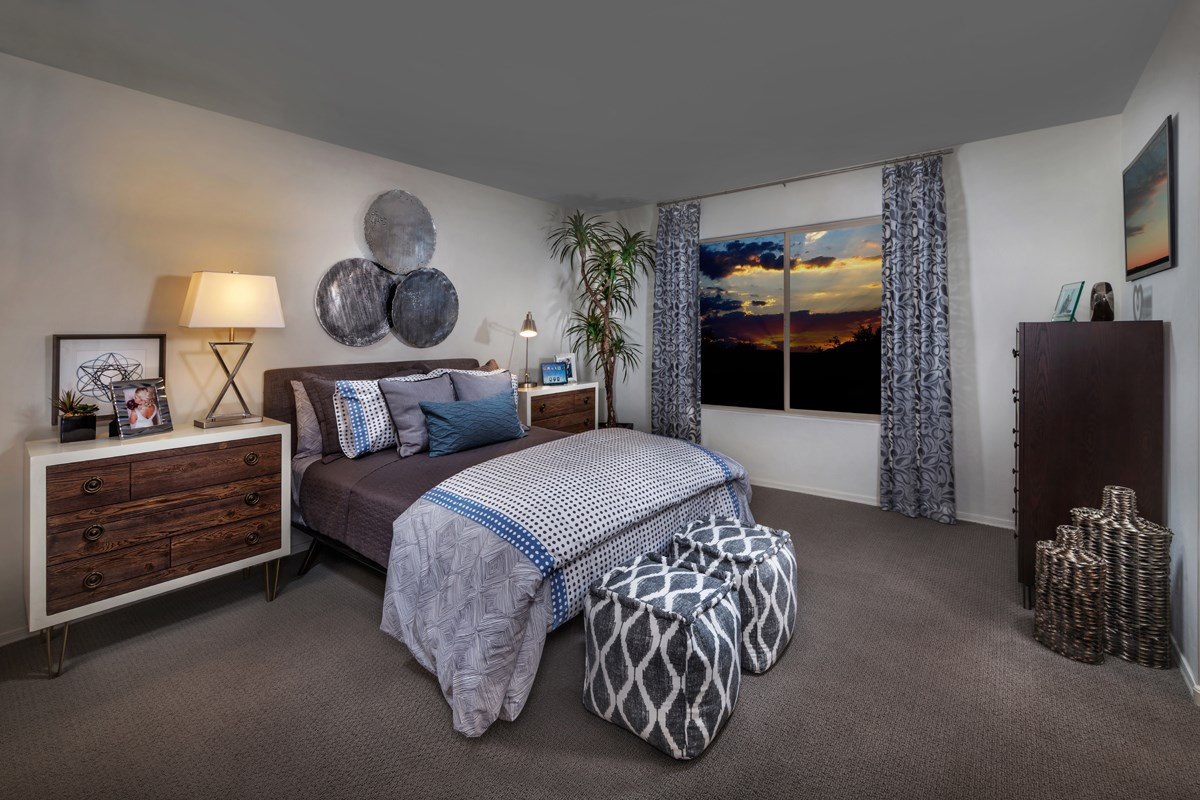 New Homes in Tucson, AZ - Oakmore Reserve 1465 Master Bedroom