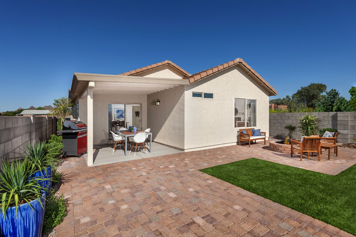 New Homes in Tucson, AZ - Oakmore Reserve 1465 Outdoor Living