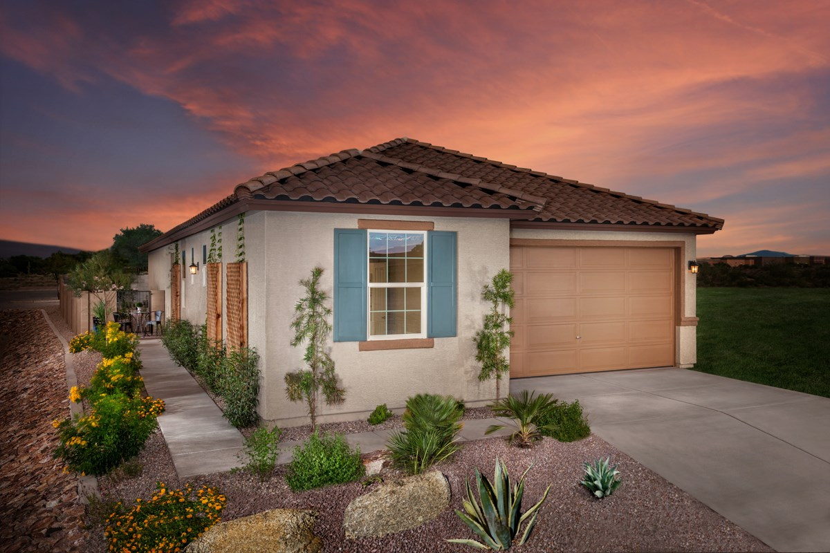 New Homes in Tucson, AZ - Oakmore Reserve 1740 Exterior