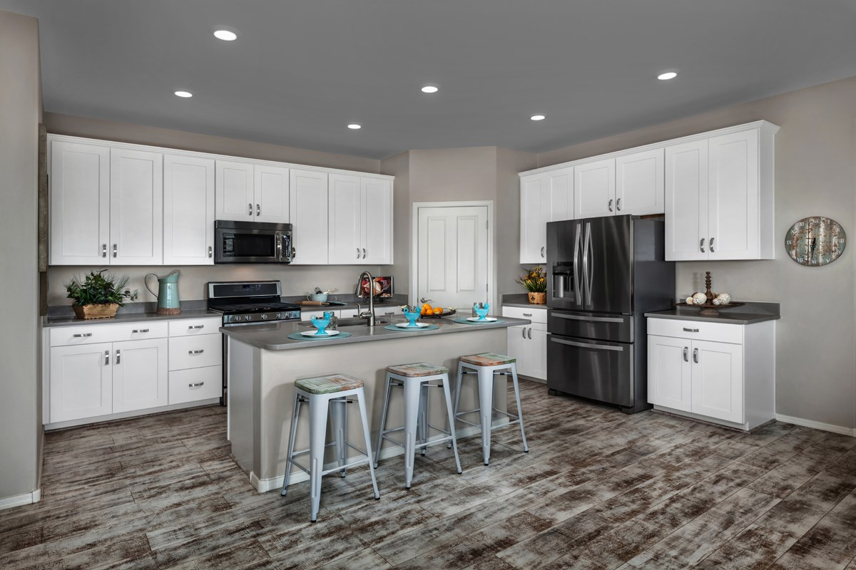 New Homes in Tucson, AZ - Oakmore Reserve 1740 Kitchen