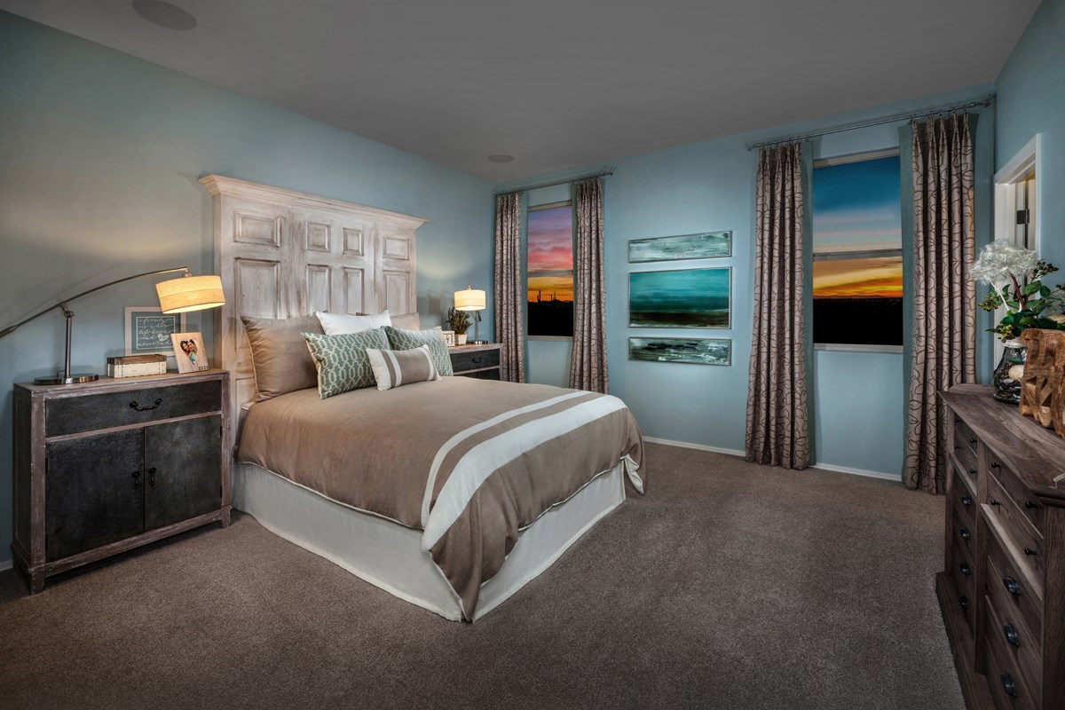 New Homes in Tucson, AZ - Oakmore Reserve 1740 Master Bedroom