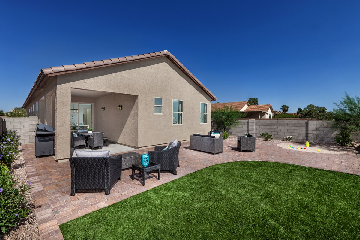 New Homes in Tucson, AZ - Oakmore Reserve 1740 Outdoor Living